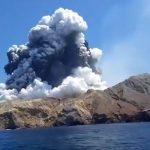 nuova zelanda eruzione vulcano