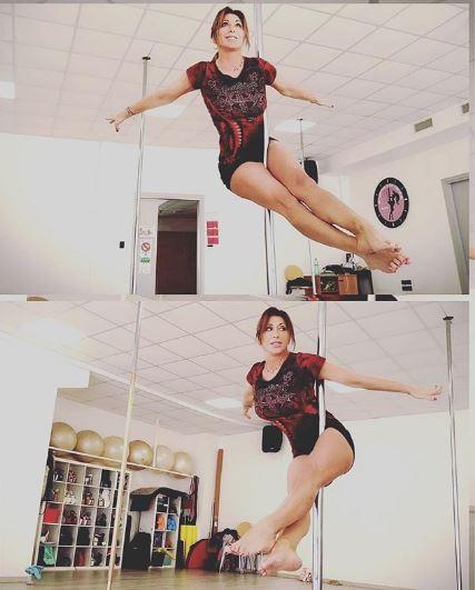 Sabrina Salerno pol dance