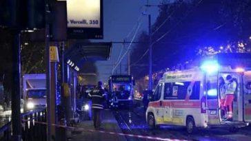 torino incidente tram