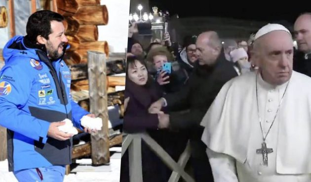Salvini papa francesco