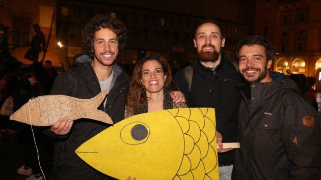 """Sardine a Napoli, l'attivista Bruno Martirani: """"Cacciato da"""