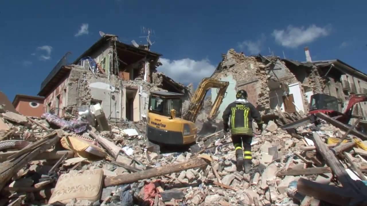ricostruzione post-terremoto