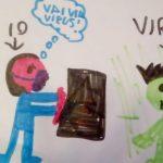 coronavirus disegno bambini