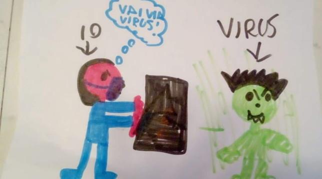 Coronavirus, il disegno dei bambini della zona rossa: «Vai v
