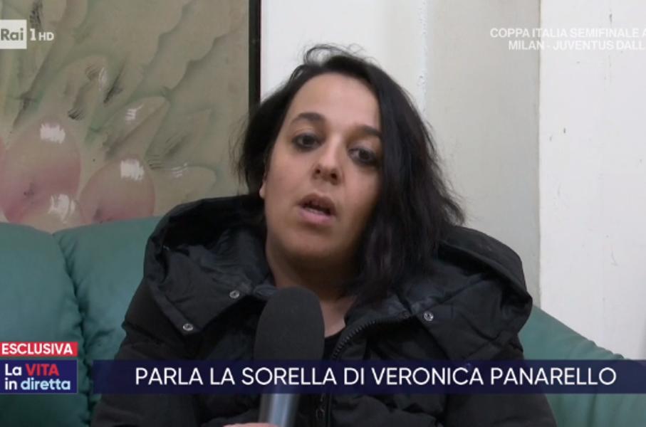 Antonella Panarello intervistata da La vita in diretta