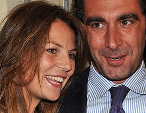 Marina La Rosa e il marito Guido Bellitti