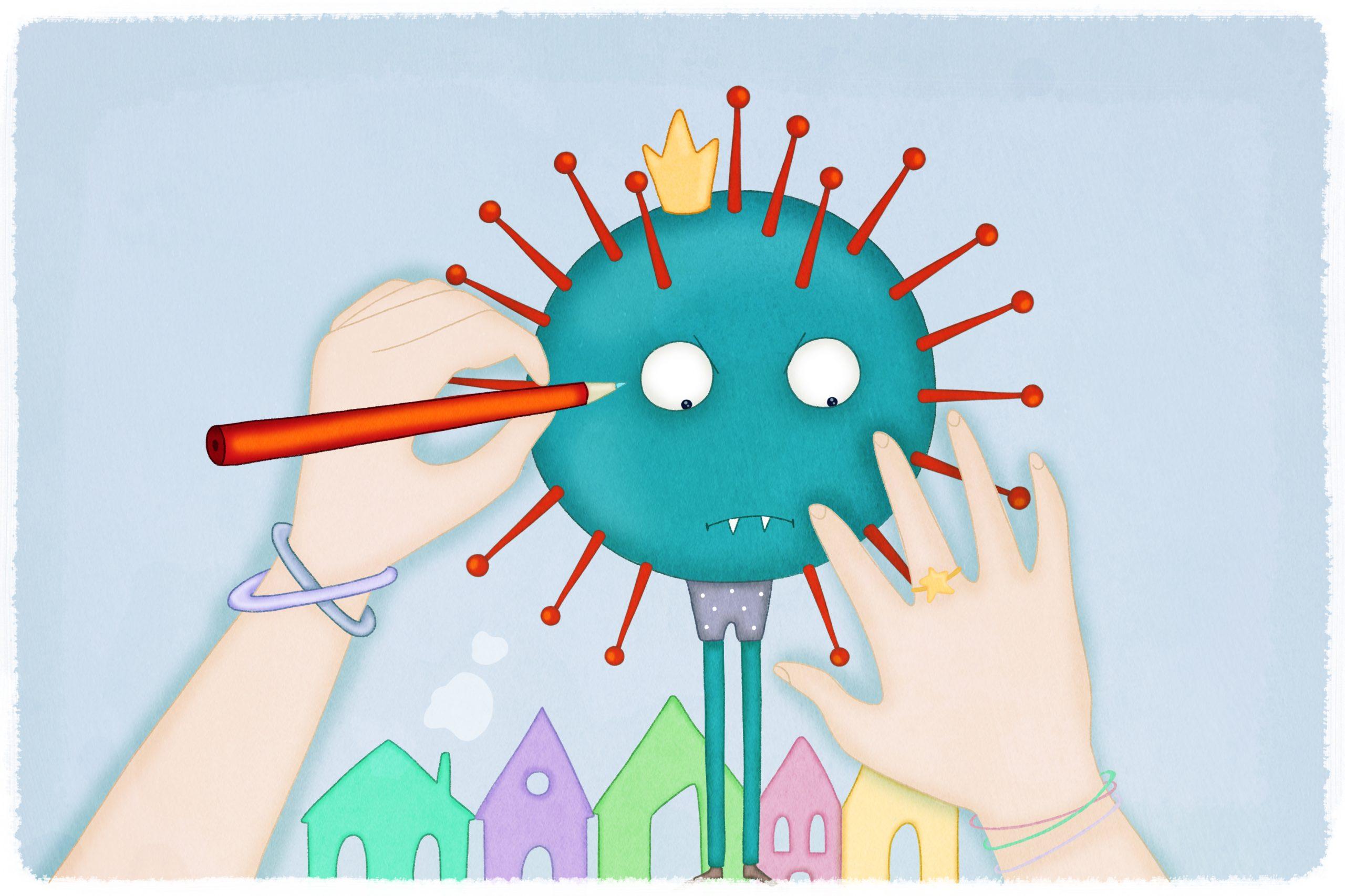 Un Certo Non So Che coronavirus, la filastrocca di roberto piumini: «porti la