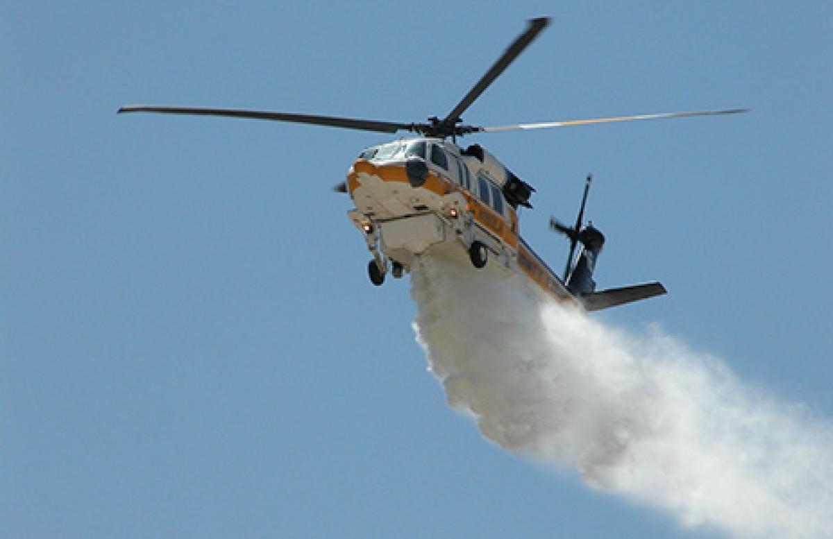 coronavirus disinfestazione elicotteri