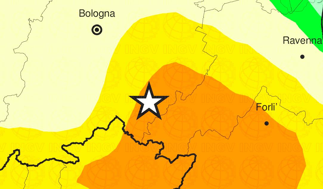 terremoto oggi Emilia-Romagna