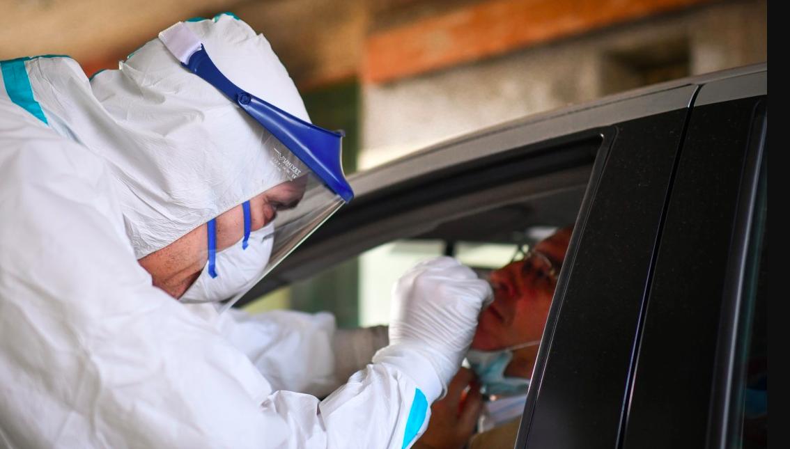 coronavirus test in auto
