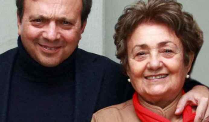 Piero Chiambretti e la madre Felicita