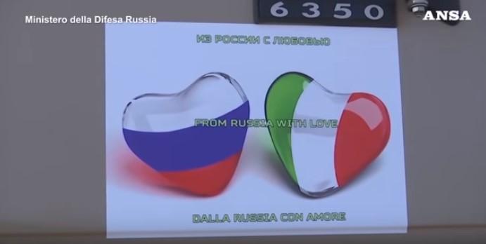 coronavirus italia russia aiuti