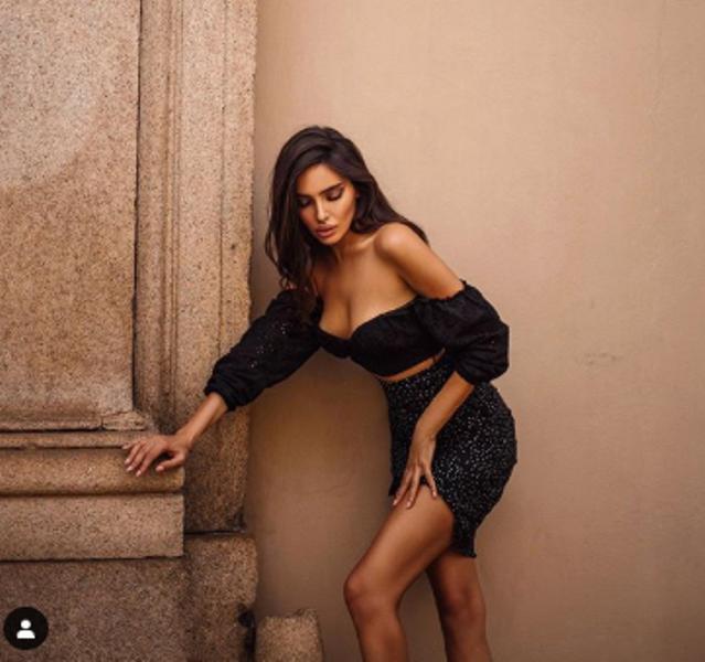 Sara Arfaoui Instagram Foto sexy