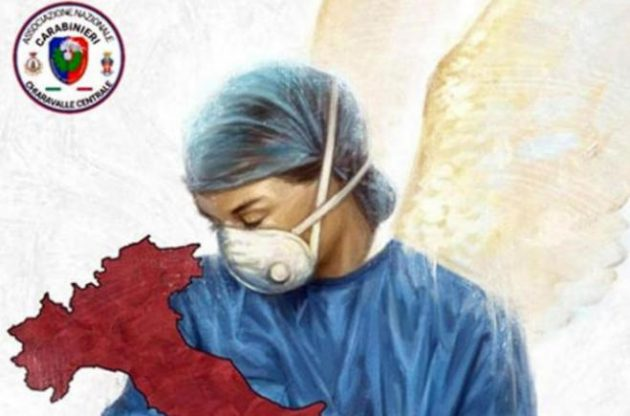 Coronavirus Lombardia infermiera