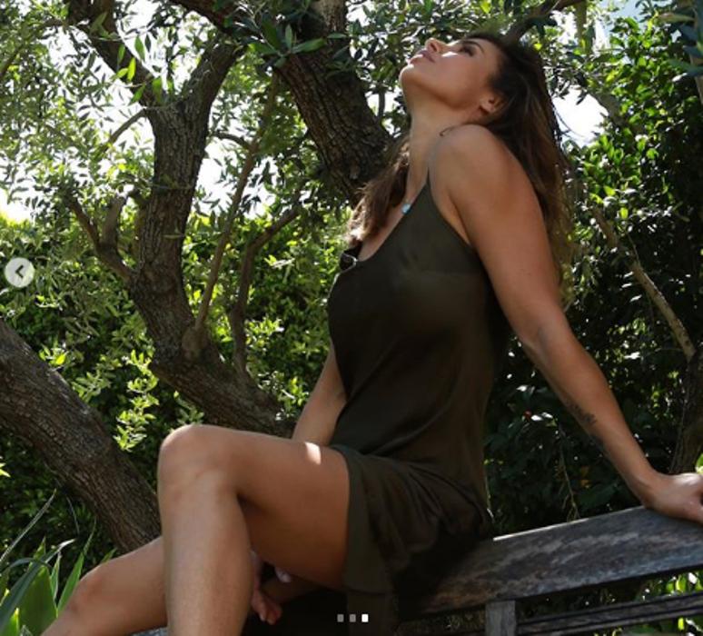 Elisabetta Canalis abito sexy