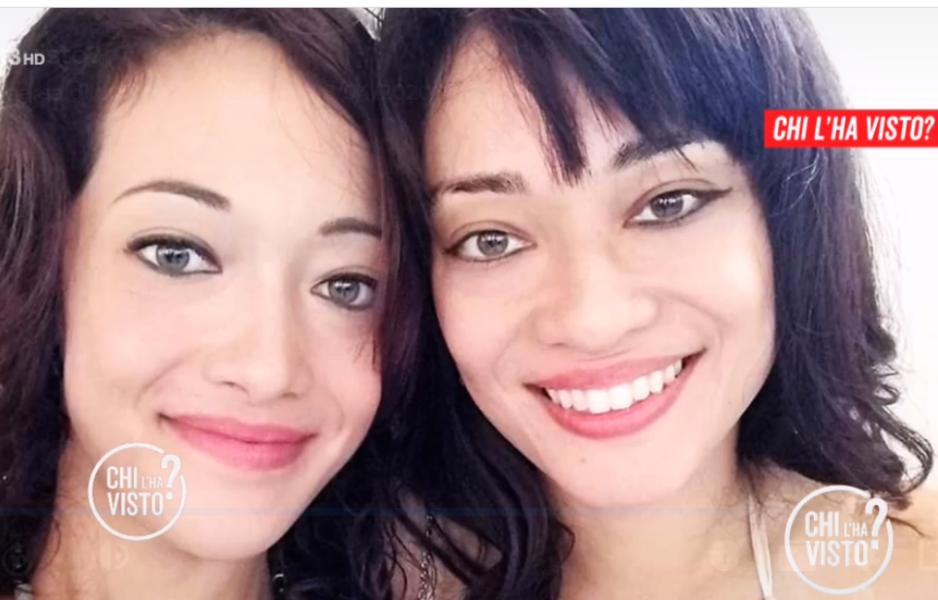 Luciana Martinelli scomparsa e la sorella, foto Chi l'ha visto?