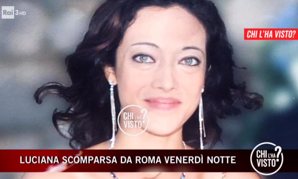 Luciana scomparsa a Roma news, trovata la sua auto: chiavi s