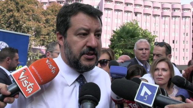 Matteo Salvini news