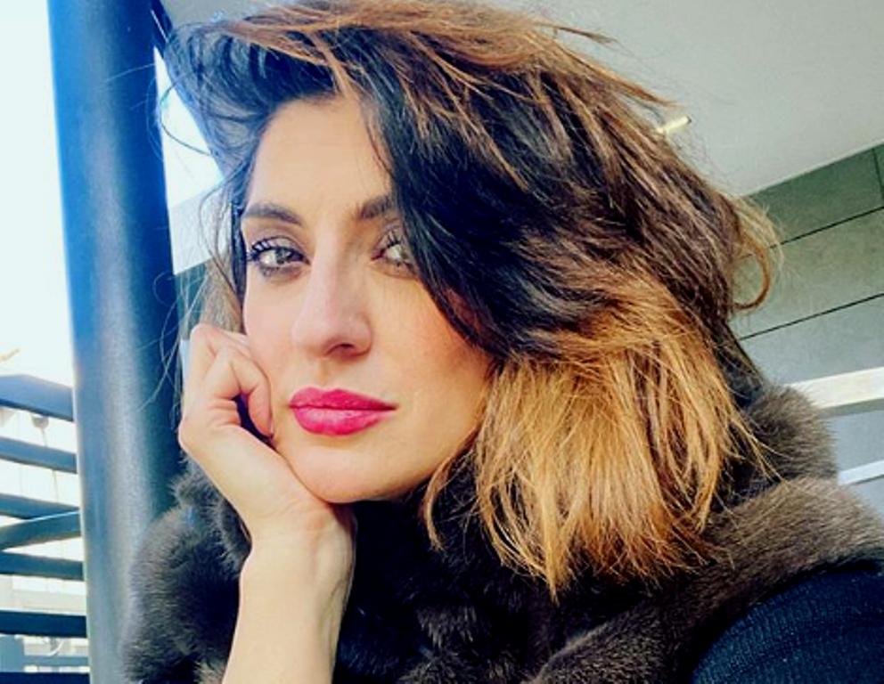 Elisa Isoardi abito trasparente
