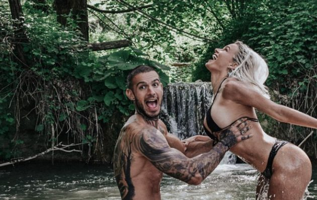 Mercedesz Henger Instagram, avvinghiata a Lucas Peracchi su