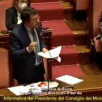 Salvini al senato