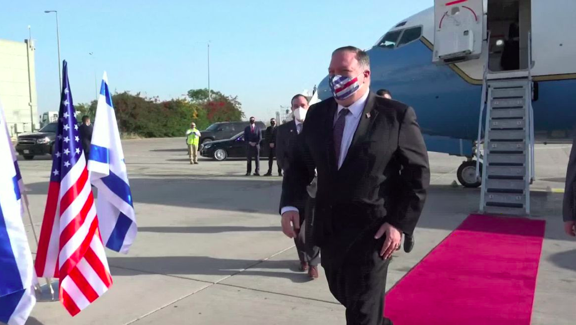 mike pompeo in israele