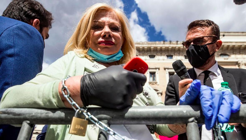 Sandra Milo: «Ho chiesto a Conte di abolire l'Iva fino al 20