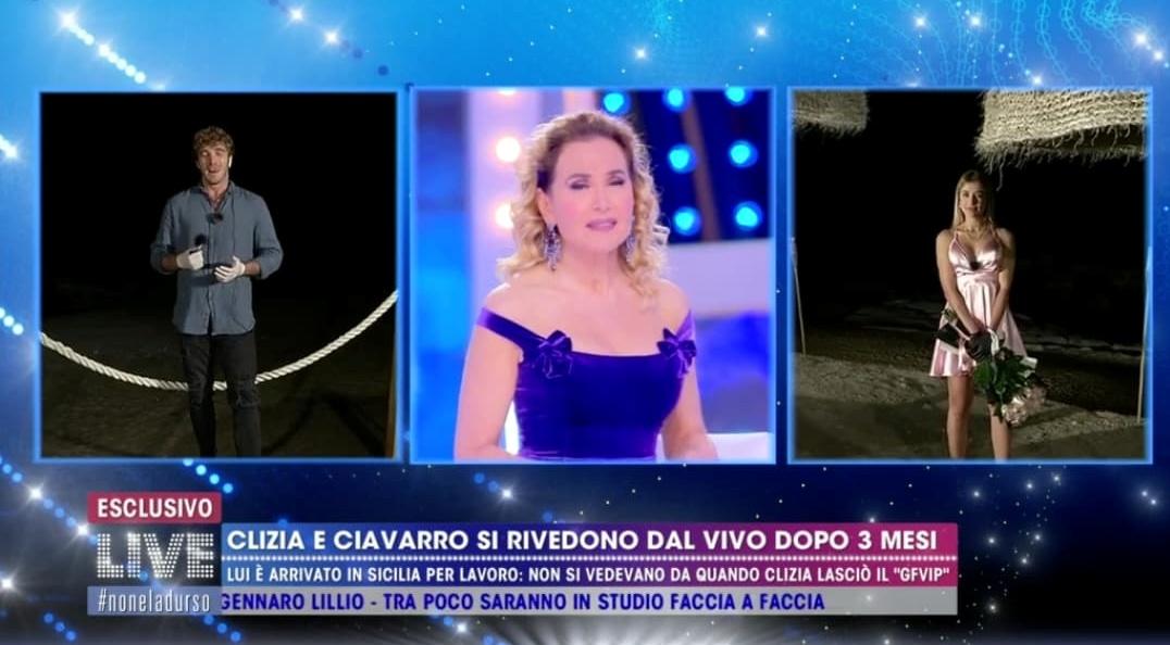 Ciavarro-Incorvaia figuraccia in diretta tv, la D'Urso: