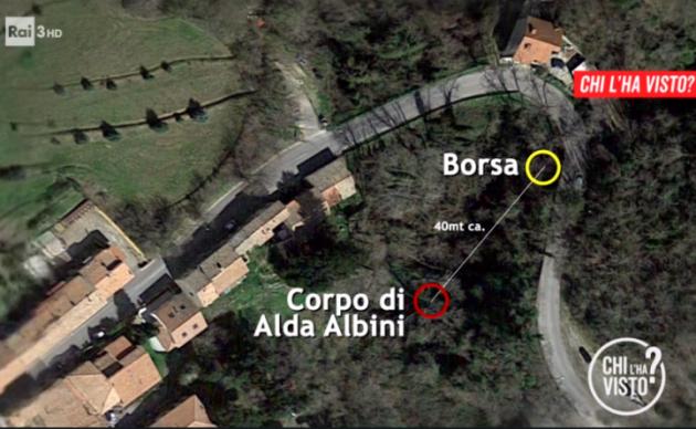 Alda Albini trovata morta in un canale