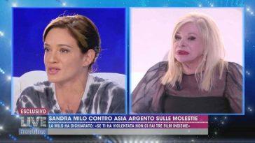 Asia Argento Sandra Milo