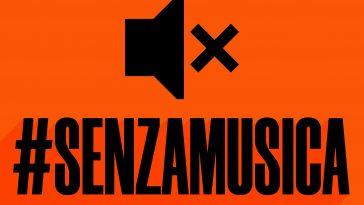 senza musica protesta