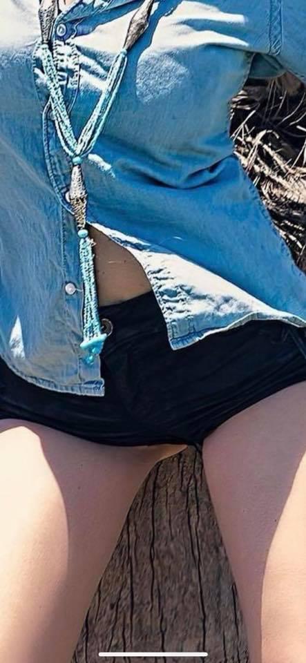 Martina Stella estate hot shorts parti intime