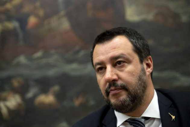 Matteo Salvini Campania