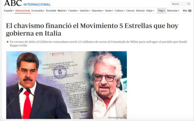 M5S soldi dal Venezuela