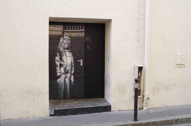 bataclan porta banksy