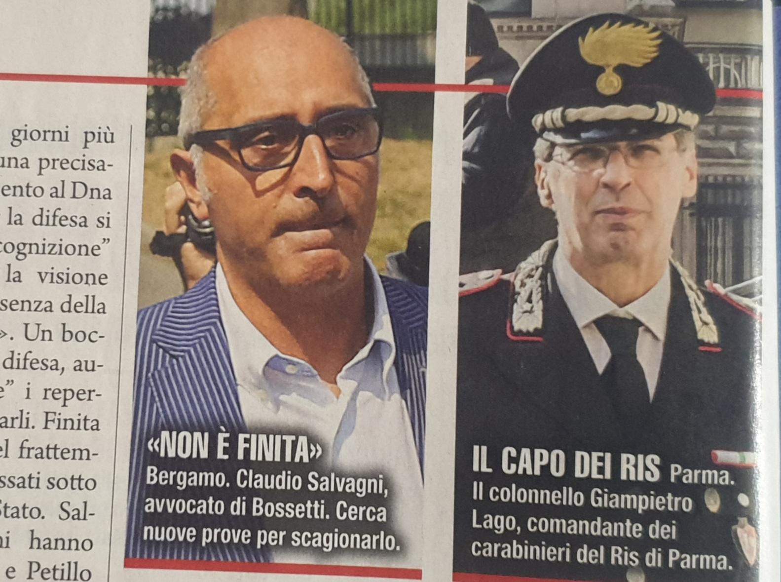 Yara, Massimo Bossetti denuncia i Ris