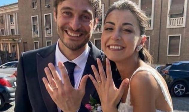 lino guanciale sposato