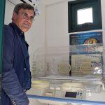 neonato abbandonato a Bari