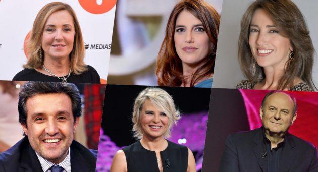 """Tv italiana, la classifica dei """"30 personaggi sempre in onda"""