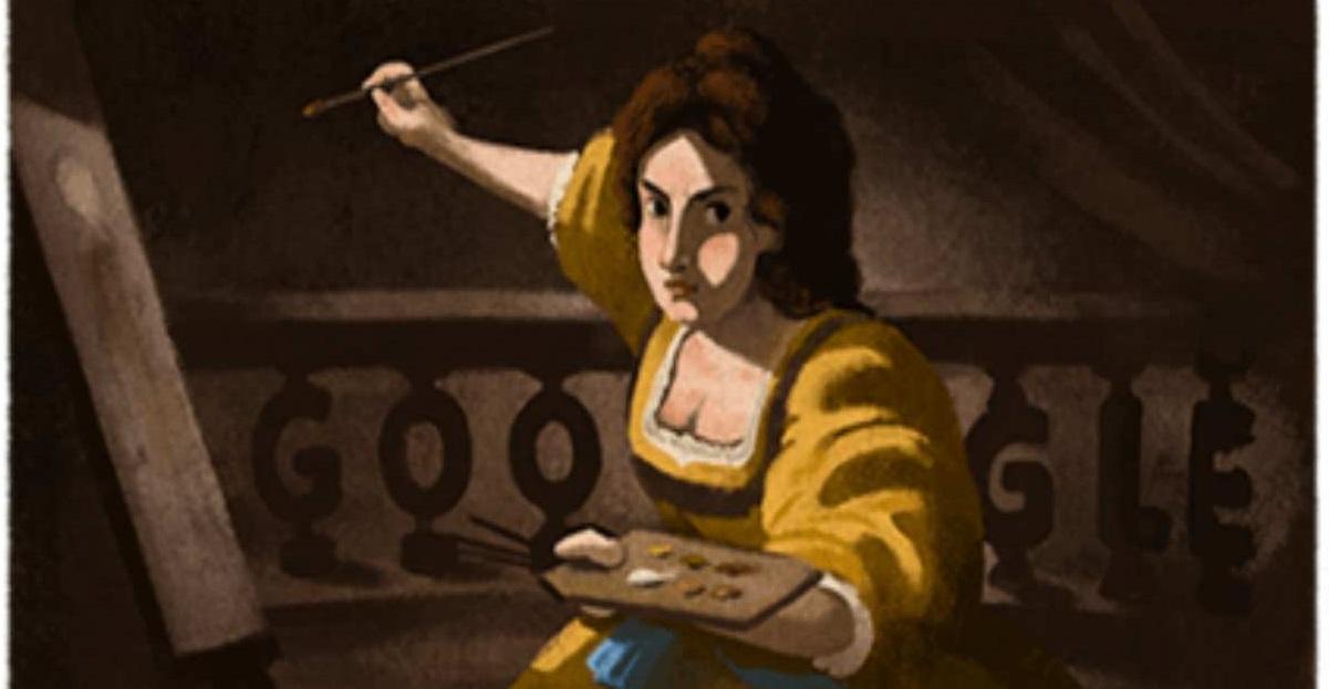Chi era Artemisia Gentileschi, la pittrice caravaggesca celebrata oggi dal doodle di Google