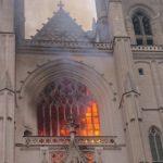 Incendio cattedrale di Nates