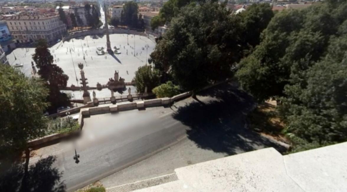 Roma Pincio suicidio