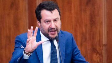 Convegno negazionisti Salvini