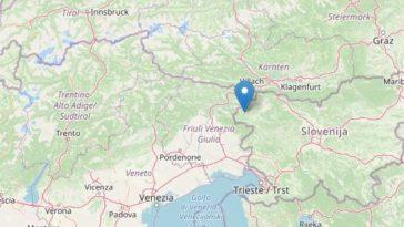 terremoto italia slovenia
