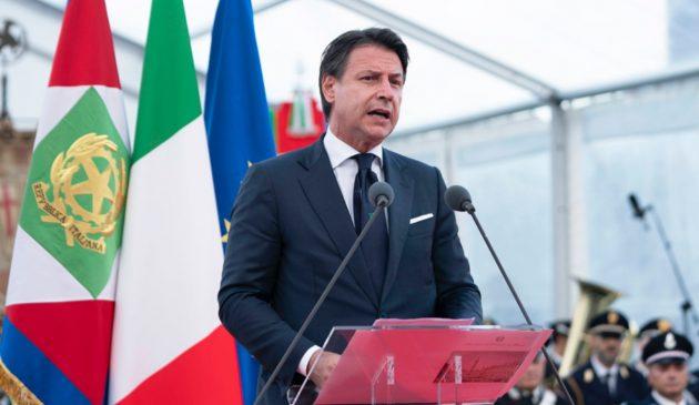 Genova San Giorgio, Conte cita Piero Calamandrei: «Il ponte simbolo di unità e fiducia»
