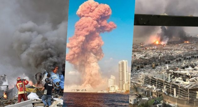 Esplosione Beirut, inferno in Libano con oltre 100 morti e più di 4mila feriti: le immagini terribili