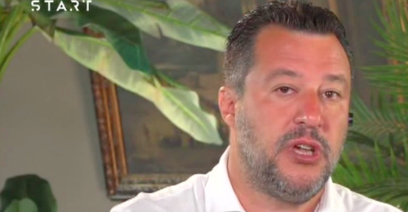 Matteo Salvini intervista a Sky