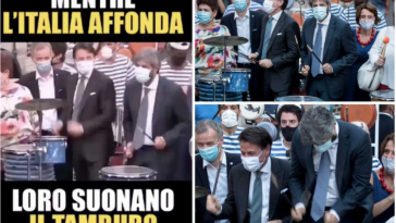 L'italia affonda