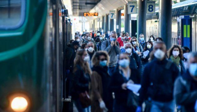 treni distanziamento