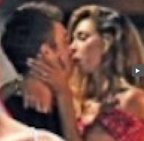 belen rodriguez nuovo bacio